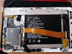 Onda alldocube iwork 10 Pro wyświetlacz nie działa ale podświetlenie działa