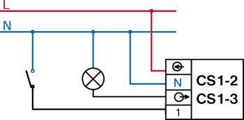 Wy��cznik czasowy cs1-2 do dmuchawy w piecu c.o.