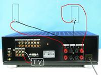 Sony TA-570ES+MB Quart 1000 - Nic nie słychać, coś uszkodzone, czy mój błąd?