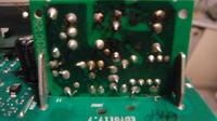 Pralka Indesit WIN 102 - Uszkodzona płytka zasilająca na MODULE