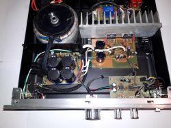 Oklepany LM3886 :) Mój wzmacniacz stereo