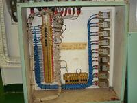 Kontrola ciągłości przewodu zawierajacego stycznik NO