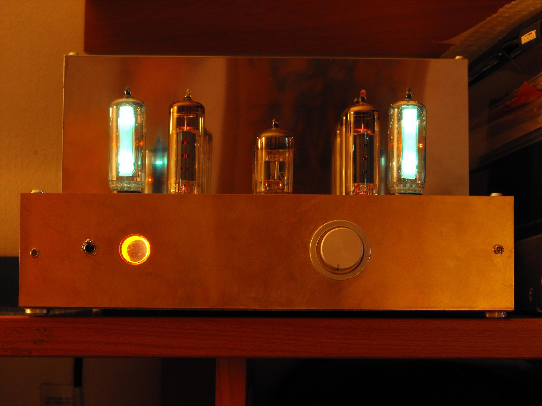 Bud�etowy wzmacniacz lampowy x2