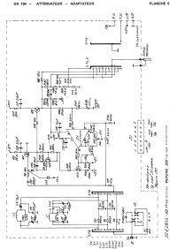Obwód wejściowy Oscyloskopu Metrix OX734