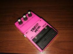 BOSS SD-1 - stompbox gitarowy (klon z kilkoma modami)