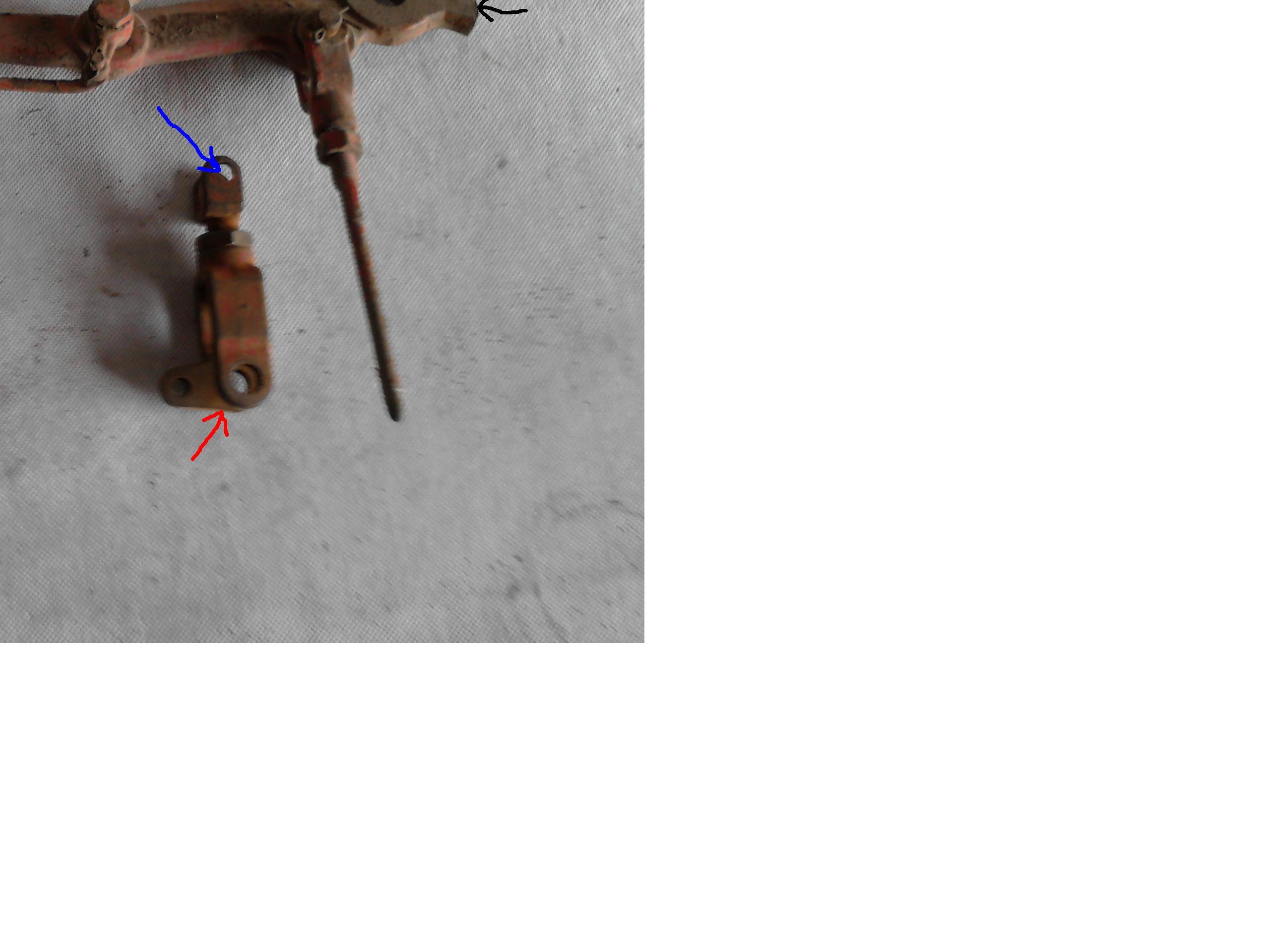 Hamulec r�czny w t-25 (W�adimirec)