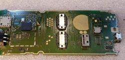 Nokia 150 - Po zalaniu biały LCD- brak korozji - zdjęcia płyty