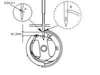 Maszyna do szycia singer chwytacz nie łapie nitki z igły.