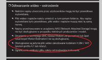 LG 55m670s nie czyta wszystkich mkv