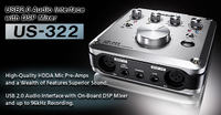 Instrukcja Tascam 322 Double Auto Reverse Cassette Deck EN