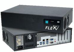 """FLEX-BX200-Q370 - wzmocniony, modułowy komputer 2U z 4 zatokami 2.5"""" hot sw"""