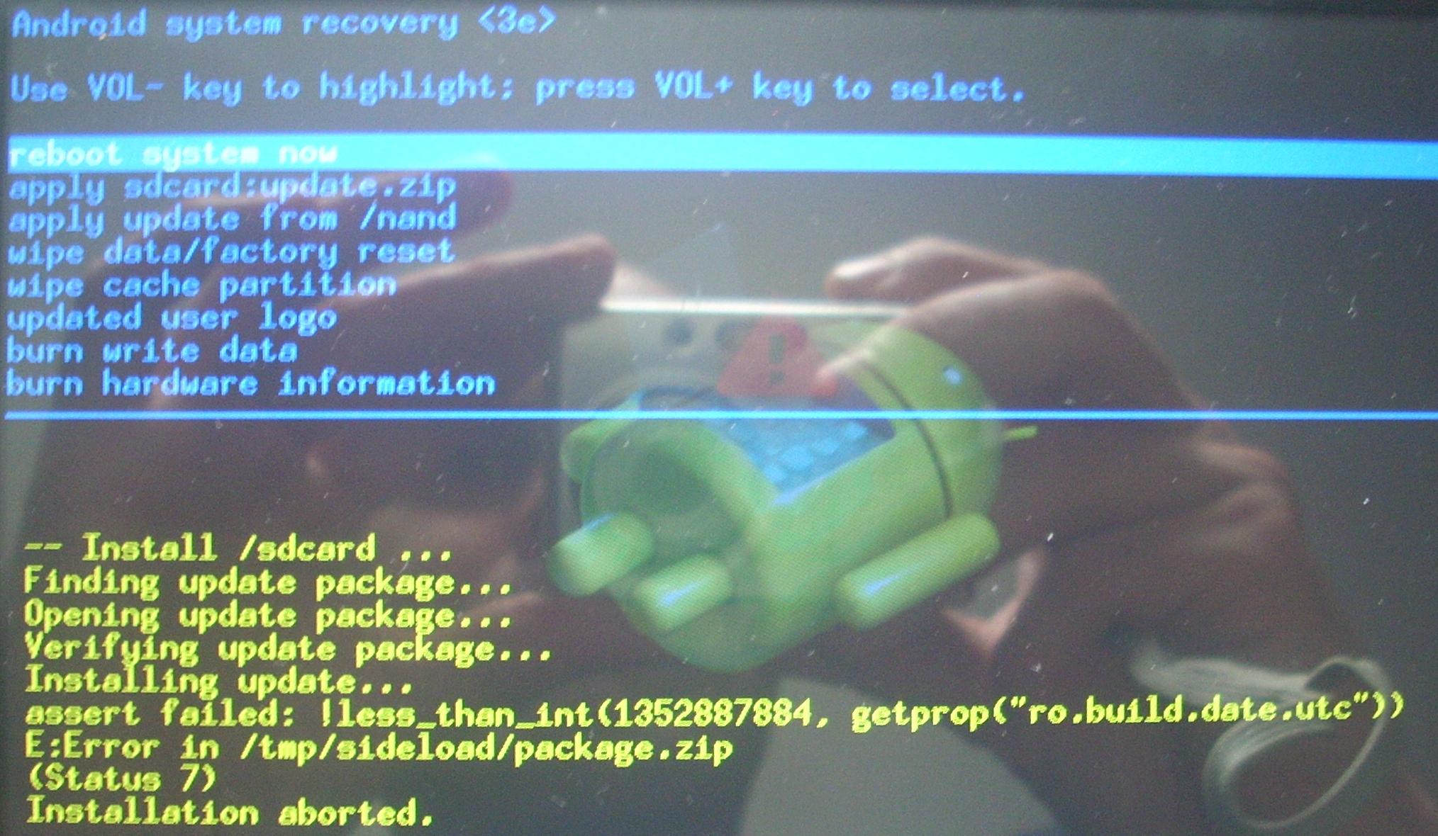 Goclever/T76GPSTV - Tablet nie chce si� w��czy� , nie reaguj� przyciski