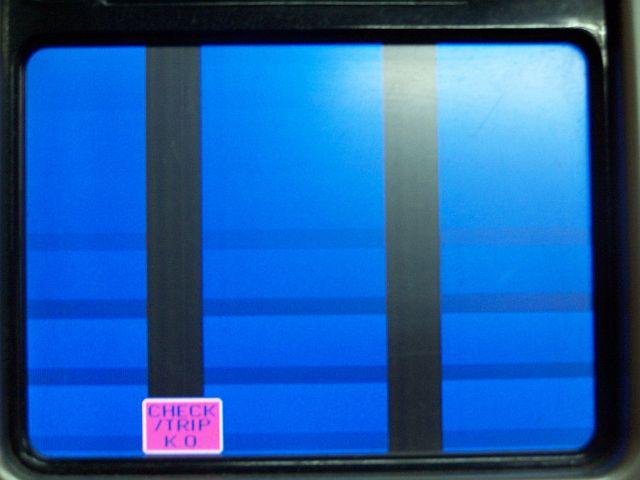 TV CRT - Brak obrazu na CRT po RGB z vga, jest z Euro