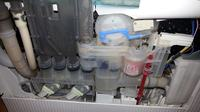 Zmywarka BOSCH 3in1 Silent Plus - Przelewa wodę z płaszcza