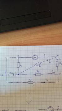 Metoda superpozycji. Obliczenie przepływu prądu.