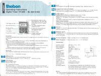 Programator czasowy Theben TR609 jak wymienić akumulator