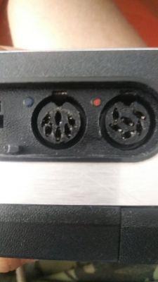 Magnetofon Philips - Wejścia