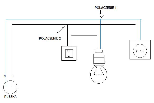 Podłączyć wiele włączników światła