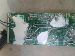 Zasilacz Sony ACDP-100E02 - Wylany kondensator i Mosfet zamiast diody wyjściowej