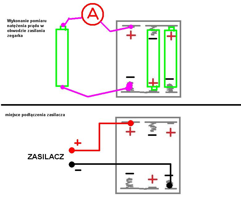 Jakim zasilaczem zast�pi� baterie 3x R03 (AAA) 1,5V.