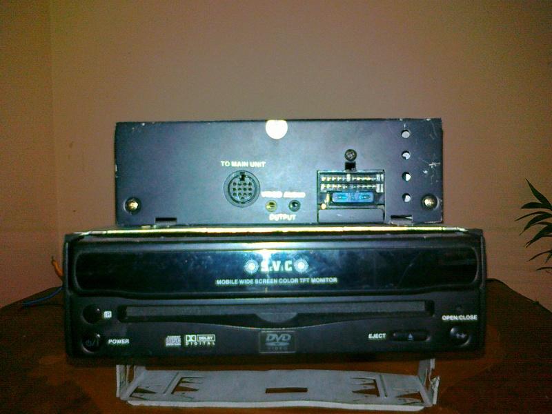 DVD SVC schemat po��czenia radia