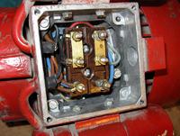Podłączenie silnika 3-faz 1500W do1 fazy - kondensator się grzeje
