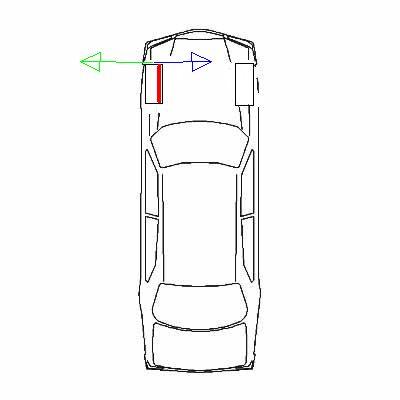 Ford Escort, zdziera lewą oponę od wewnątrz