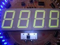 Zegar cyfrowy z sekundnikiem led - problem z wyświetlaczem