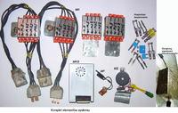 System kontroli żarówek i bezpieczników w samochodzie.