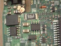Laptop HP nx8220 - spalona część bloku zasilania.