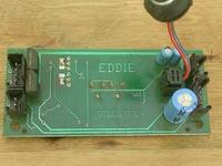 Discotech Santos 5. Potencjometry montażowe, mocowanie mikrofonu.