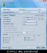 Acer TravelMate 4060 - nie mogę naładować baterii
