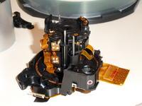 Canon S2 IS obiektyw montaż