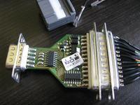 Kabel połączeniowy TTL to RS232 (rejestrator i Siemens 35iT)