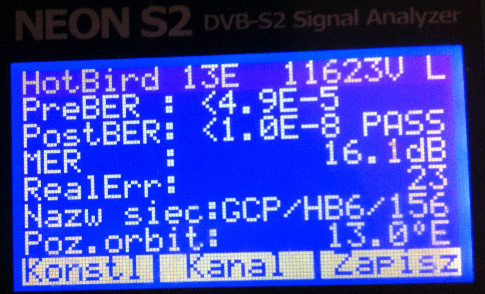 poszukuje miernik - jaki miernik DVB-S2