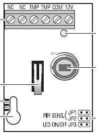 Czujka Aqua+ i sygnalizator akustyczno-dźwiękowy