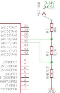 ATMEGA - Jak dokonać pomiaru napięcia/prądu za pomocą mikrokontrolera AVR