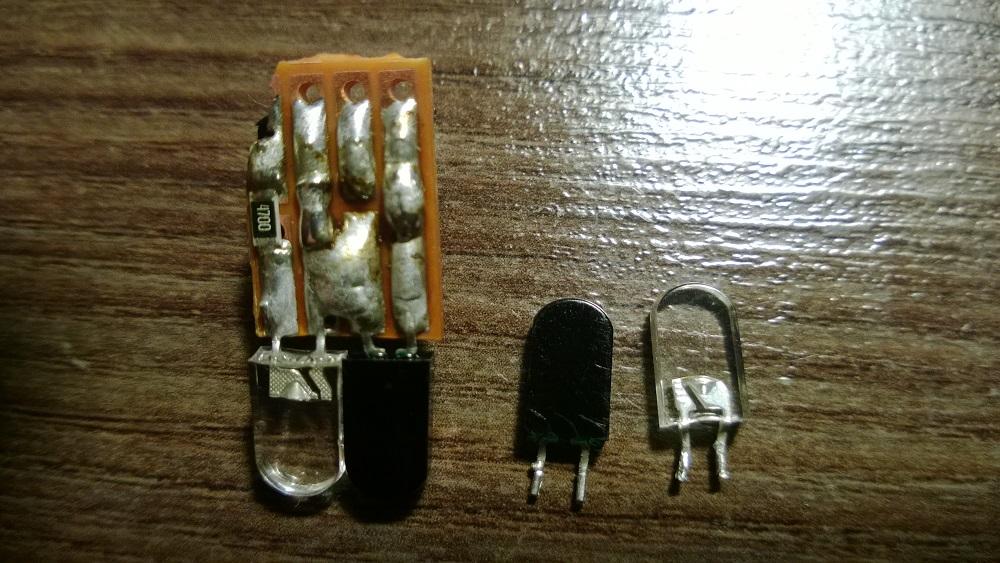 Nie działa sensor na diodach IR