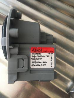 Pralka Candy C2 105-86 S - popalone elementy na PCB