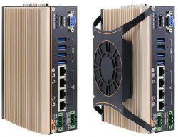 POC-500 - wzmocniony komputer typu embedded z Ryzen V1000 i 4 portami GbE