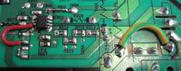 Monitor LCD BENQ E22 - Monitor po burzy nie włącza się już , zadnej reakcji.