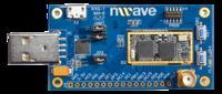 NW1000 - płyta deweloperska modułu radiowego sub-1GHz dla IoT i M2M