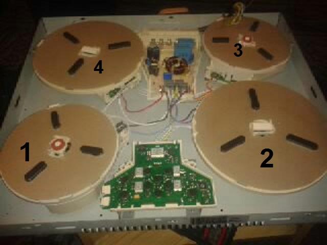 Indukcja Teka GKST 60 I4 Basic Fac - uszkodzone 3 pola E4