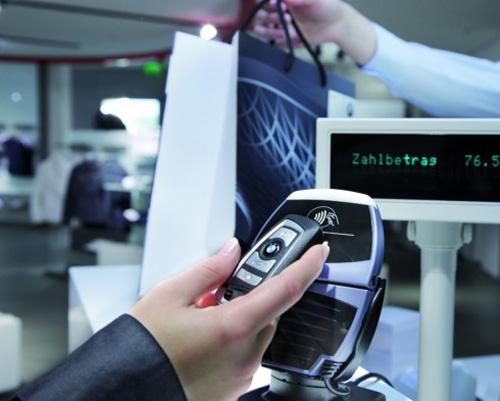 Wkr�tce zap�acisz kluczem od swojego BMW (NFC)