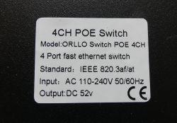 Wnętrze kamer IP PTZ, NVR i przełącznika PoE Orllo
