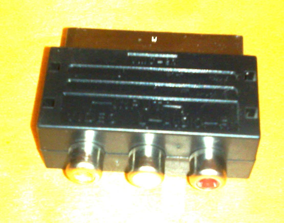DPL580HT - Thomson - przej�ci�wka Euro->Chinch z konsoli PlayStation 2