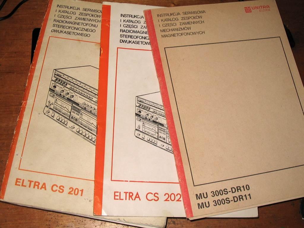 Unitra Eltra CS 202 - Naprawa, przestrojenie, konserwacja.