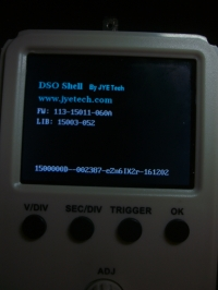 Oszilloskop DSO150 Firmware - This board is FAKE!