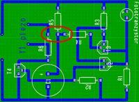 Spradzenie schematu płytki PCB irytatora kitu AVT739