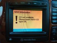Mercedes S klasa W220 - Dostęp do kodów błędu przez command
